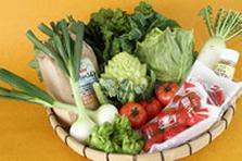 久留米の野菜と米