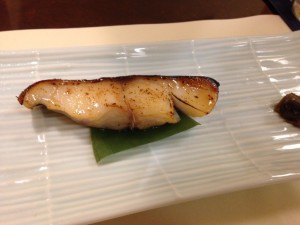 金目鯛の西京焼き